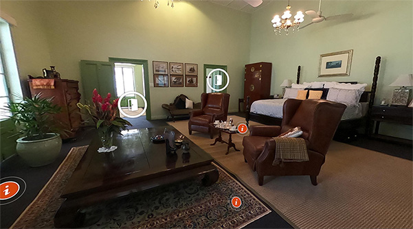 Inside Government House Queens Room